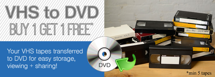 Video to DVD Conversion Sale