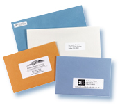 labels on envelopes examples