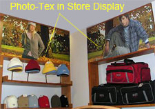 photo tex in store displays
