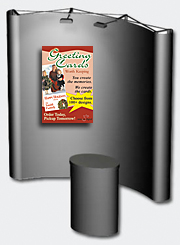 Mounted Poster For Use At trade show booths