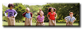 Panorama Children Poster Print