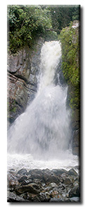 Panoramic Waterfall Poster Print