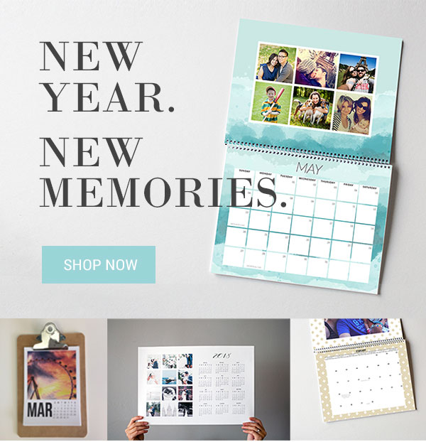 Save on custom photo calendars