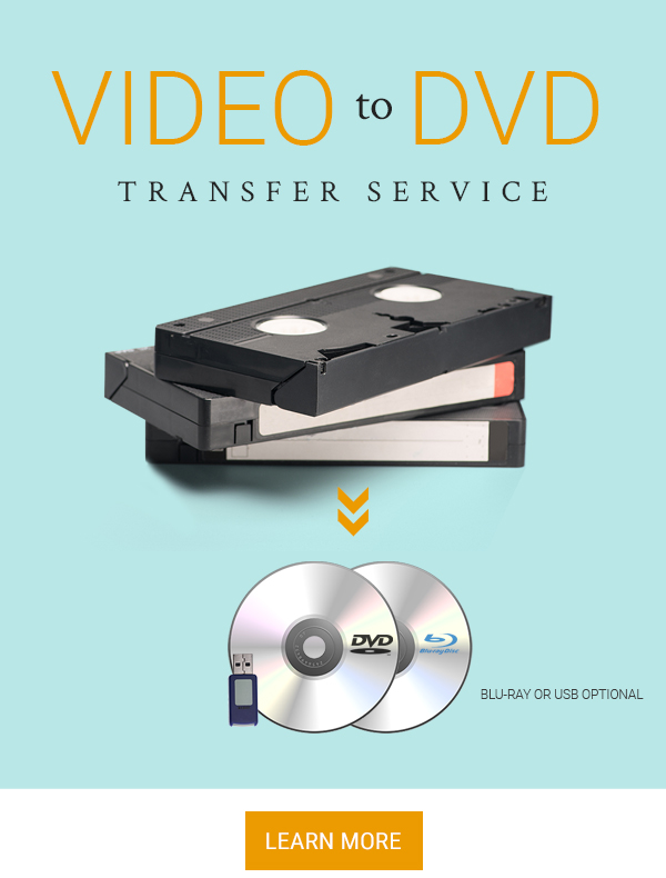 Save on VHS to DVD Transfer