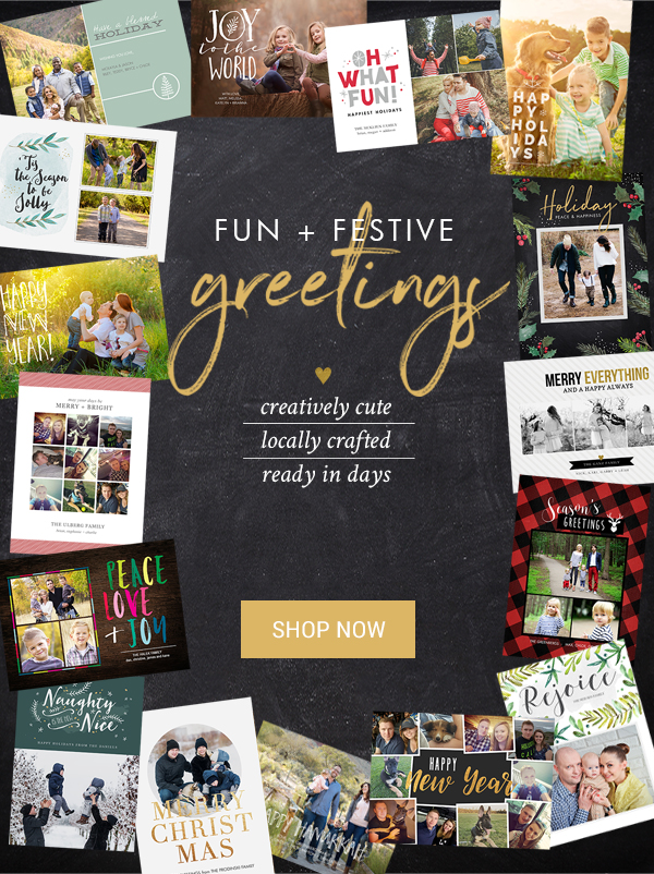 Save 40% on Holiday Cards