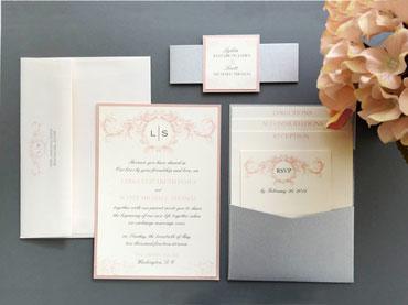 Sweet Romance Invitation