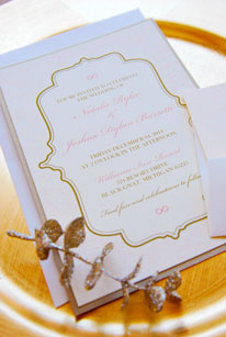 Light and Lovely Invitation