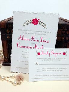 Love Blooms Invitation