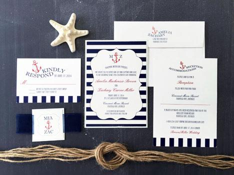 Maritime Fun Invitation