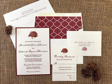 Tree of Love Invitation