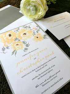 The Bright Side Wedding Invitation