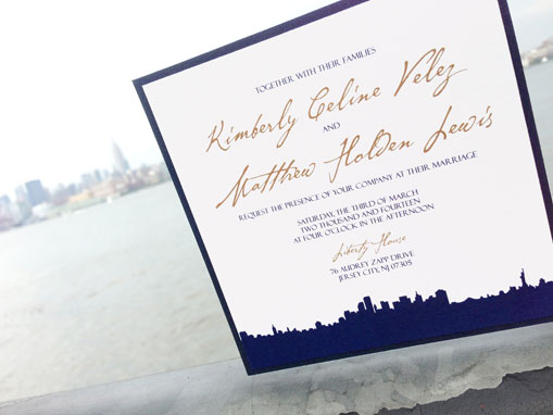 Stunning Skyline Invitation