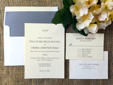 Formal Attire Invitation