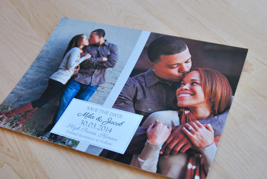 Picture Perfect Save the Date Card
