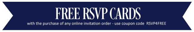 Free RSVP Cards