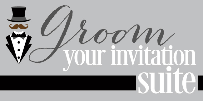 Get your groom involved