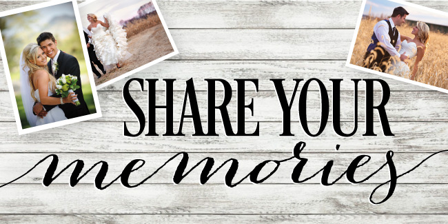 Share your Wedding Memories