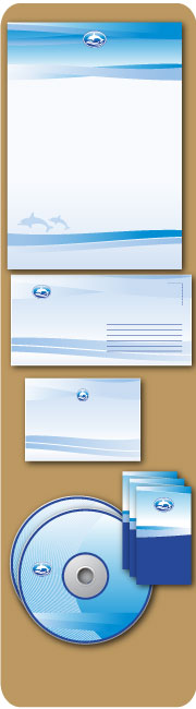 Stationery and Letterhead with Envelope Printing