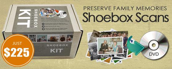Mimosa Digital : High Speed Shoebox Photo & Film Scanning